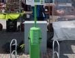 Oplaadpunt voor elektrische fietsen