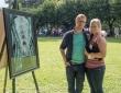 Emily en Werner op Festival des Iles