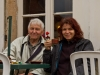 Petra en Piet in Vezelay