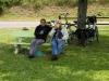 Picknick langs het Canal du Nivernais