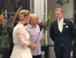 Bruidspaar met Jeff