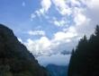 Mont Blanc in de wolken