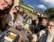 Lunch in de zon bij  Lac des Settons